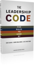 Book: The Leadership Code